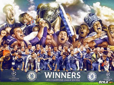 chelsea champion UCL