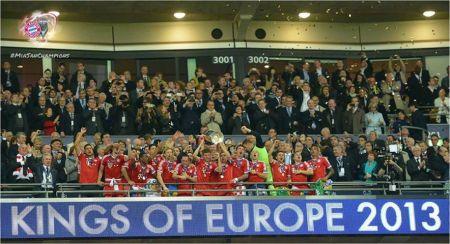 munchen kings of europe 2013