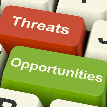 threats - opportunities